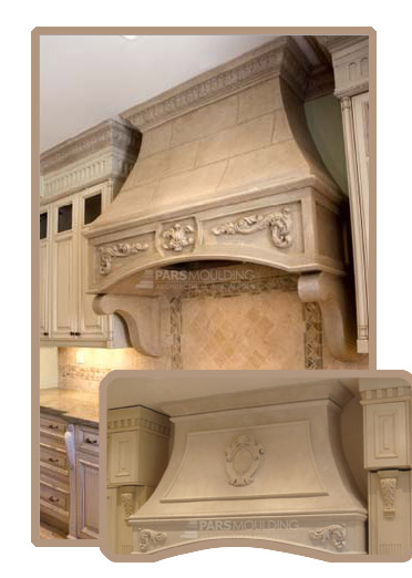 Decorative Wood Kitchen Hoods